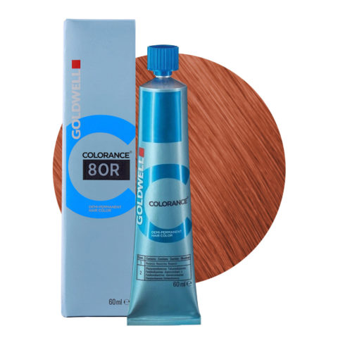 8OR Hellblond orange-rot Goldwell Colorance Warm reds tb 60ml