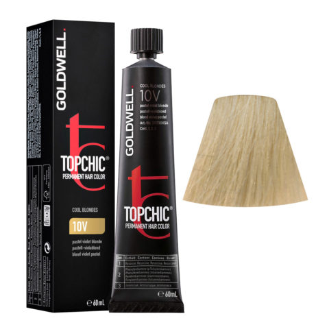 10V Pastell-violablond Goldwell Topchic Cool blondes tb 60ml