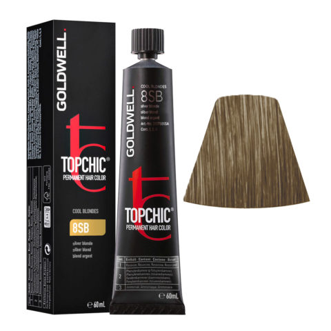 8SB Silber blond Goldwell Topchic Cool blondes tb 60ml