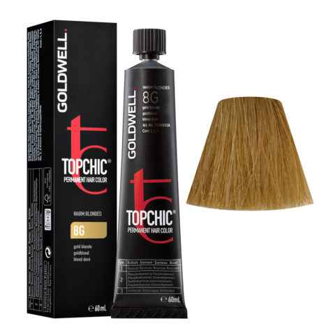 8G Goldblond Goldwell Topchic Warm blondes tb 60ml
