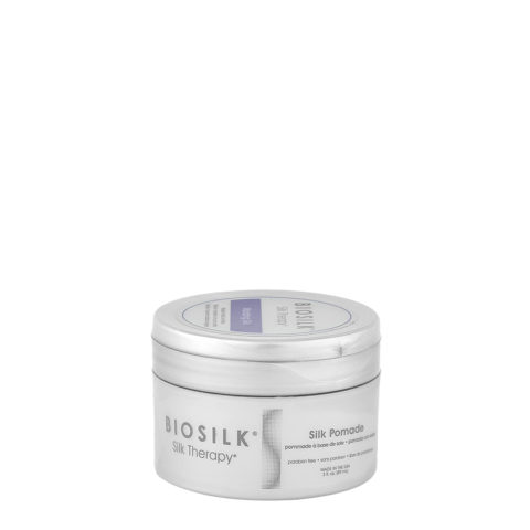 Biosilk Silk Therapy Silk Pomade 89ml - glänzendes Wachs