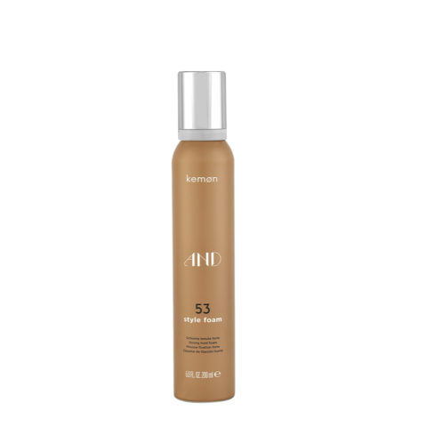 Kemon And Styling 53 Style foam 200ml - schiuma tenuta forte