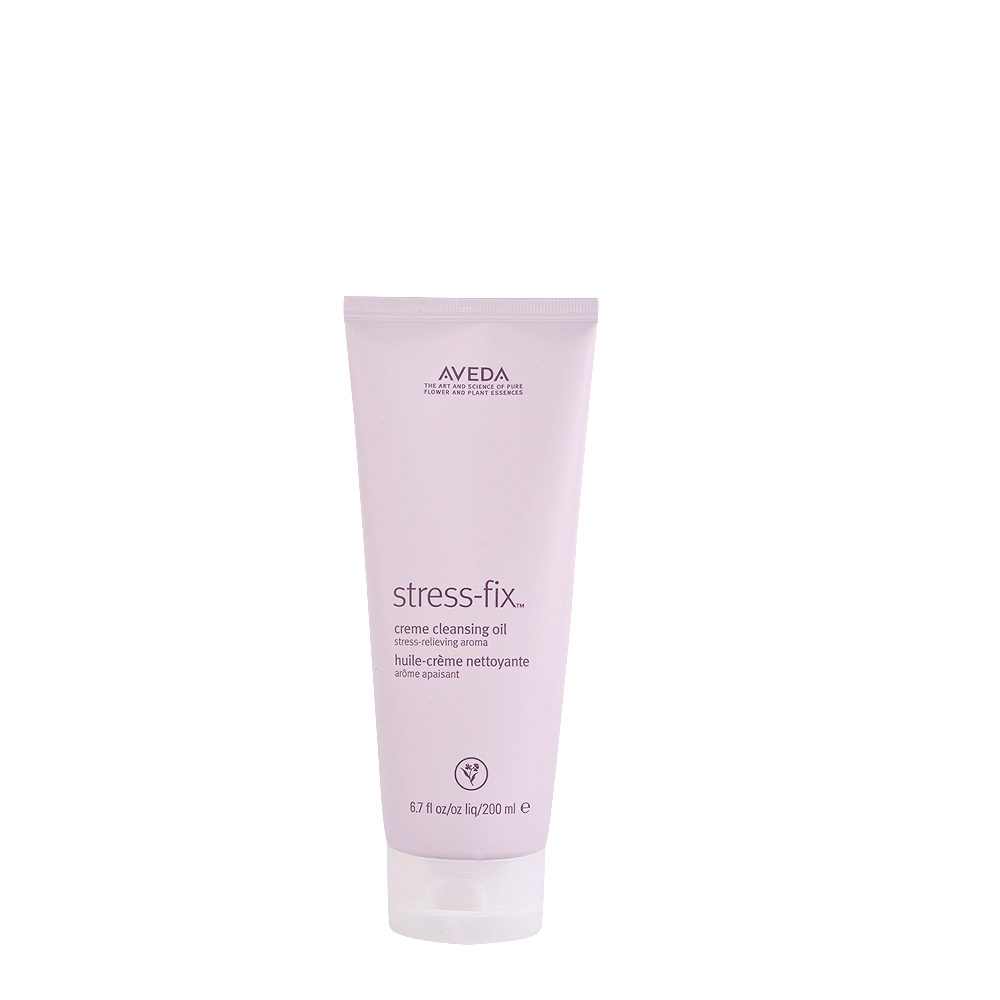 Aveda Bodycare Stress-Fix Creme Cleansing Oil 200ml - öl in Sahne