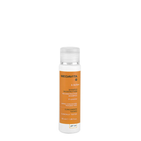 Medavita Lenghts Beta-Refibre Aufbauendes Shampoo pH 5.8 55ml - Aufbauendes Shampoo