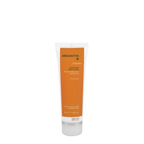 Medavita Lenghts Beta-Refibre Reconstructive hair mask pH 2.6  50ml stärkende Maske
