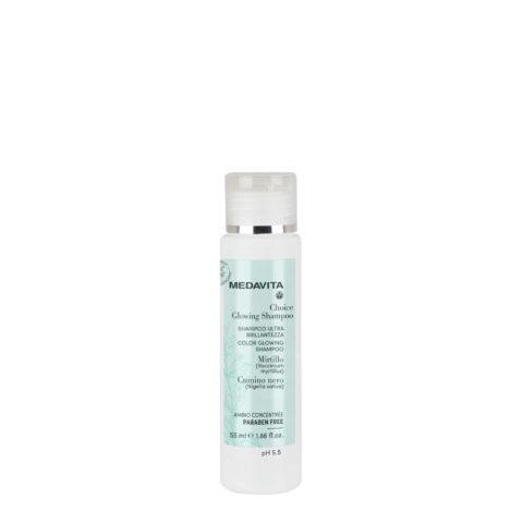 Medavita Choice Glowing Shampoo 55ml - ultraleichter Glanz