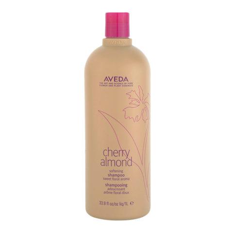 Aveda Cherry Almond Softening Shampoo 1000ml - feuchtigkeitsspendend Schampoo
