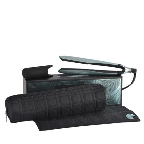 GHD Platinum + Styler Glacial Blue Collect. with Heat-resistant Bag - glätteisen mit hitzebeständiger Unterlage
