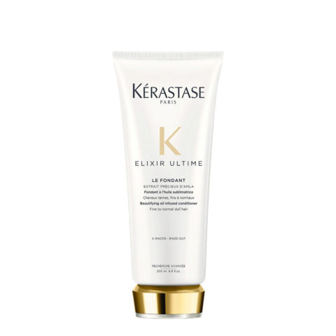 Kerastase Elixir Ultime Le Fondant 200ml - cremige, mit Öl angereicherte Conditioner, verstärkt den Haarglanz