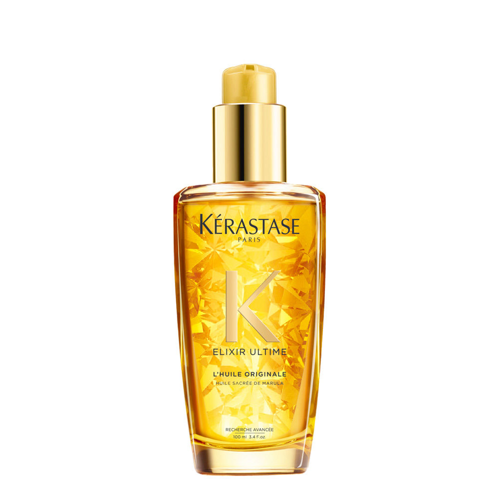 Kerastase Elixir Ultime L'Huile Originale 100ml - Leave-In Haaröl versorgt stumpfes Haar