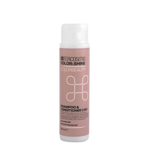 Intercosmo Color & Shine Color Beauty Shampoo & Conditioner 2 in 1 300ml