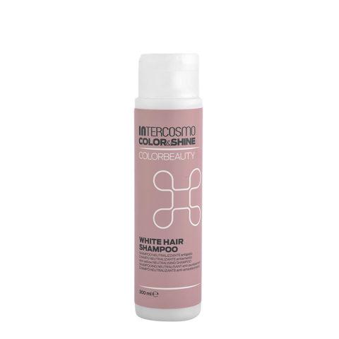 Intercosmo Color & Shine Color Beauty White Hair Shampoo 300ml - Anti-Gelbes Shampoo