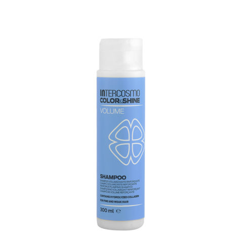 Intercosmo Color & Shine Volume Shampoo 300ml - volumizing stärkendes shampoo