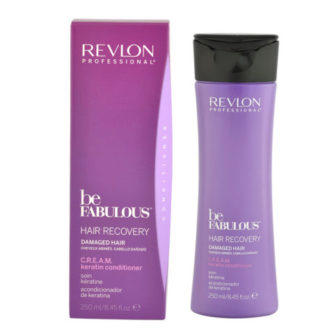 Revlon Be Fabulous Hair Recovery Cream Keratin Conditioner 250ml - Conditioner