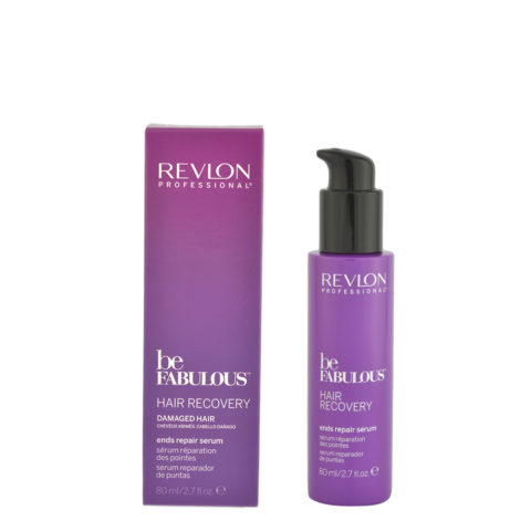 Revlon Be Fabulous Hair Recovery Ends Repair Serum 80ml - Doppelend-Serum