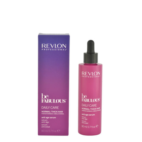 Revlon Be Fabulous Daily care Normal / thick hair Anti age serum 80ml - Anti-Aging-Serum dickes Haar