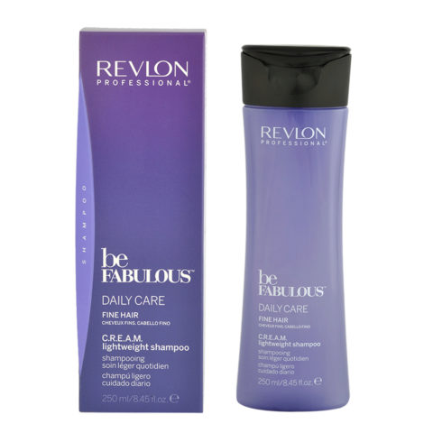 Revlon Be Fabulous Daily care Fine hair Cream Lightweight shampoo 250ml - leichtes Shampoo feines Haar