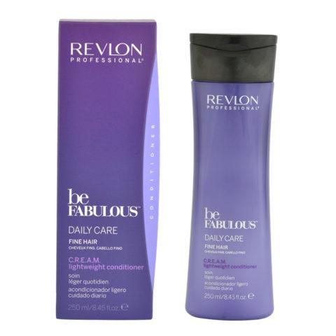 Revlon Be Fabulous Daily care Fine hair Cream Lightweight conditioner 250ml - Conditioner für feine Haare