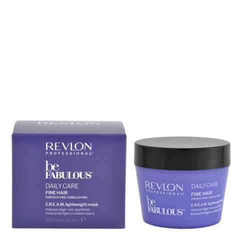 Revlon Be Fabulous Daily Care Fine Cream Mask 200ml - leichte haare dünne maske