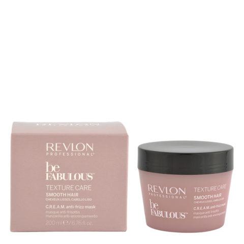 Revlon Be Fabulous Smooth hair Cream Anti-frizz Mask 200ml - Anti-Frizz-Maske Haare