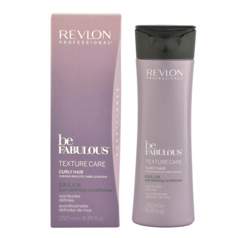 Revlon Be Fabulous Curly hair Cream Curl defining Conditioner 250ml - Balsam Definition lockiges Haar