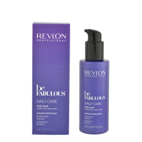 Revlon Be Fabulous Daily care Fine hair Volume texturizer 150ml - voluminisierende Lotion
