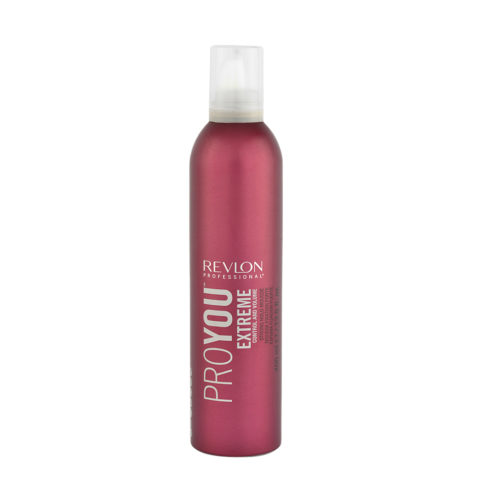 Revlon Pro You Extreme Control and Volume Strong hold Mousse 400ml - starker Schaum