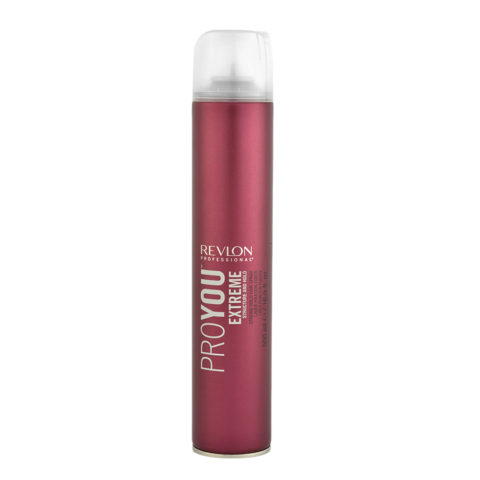 Revlon Pro You Extreme Structure and hold Strong hold Hair Spray 500ml - starker Lack