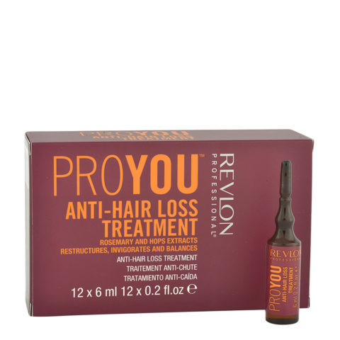 Revlon Pro You Anti-Hair Loss Treatment 12x6ml - Anti-Fall-Fläschchen