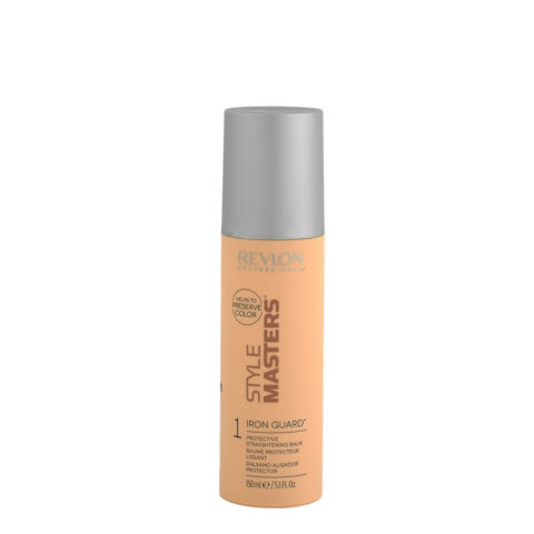 Revlon Style Masters Smooth 1 Iron Guard 150ml - Schützender Glättungsbalsam