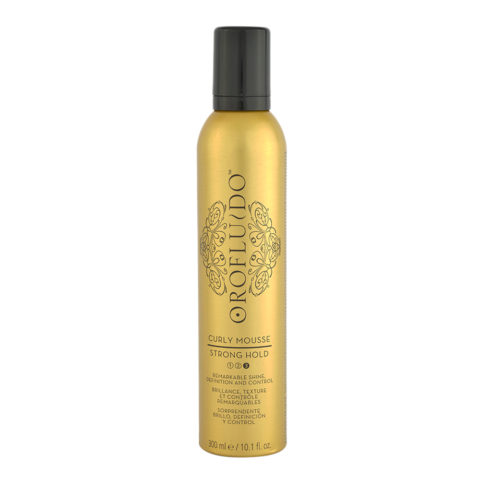 Orofluido Curly Mousse Strong Hold 300ml - starker Halteschaum