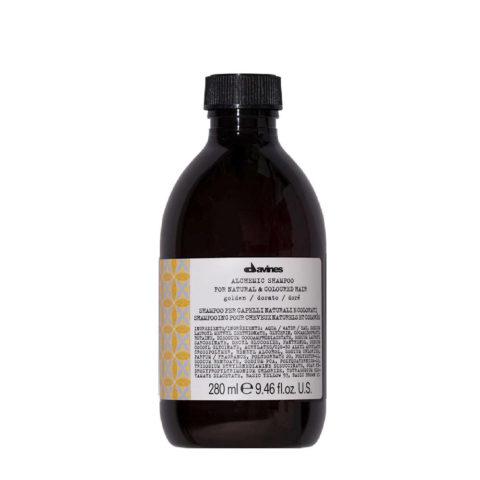 Davines Alchemic Shampoo Golden 280ml - Intensiviert gold- und hellblondes Haar
