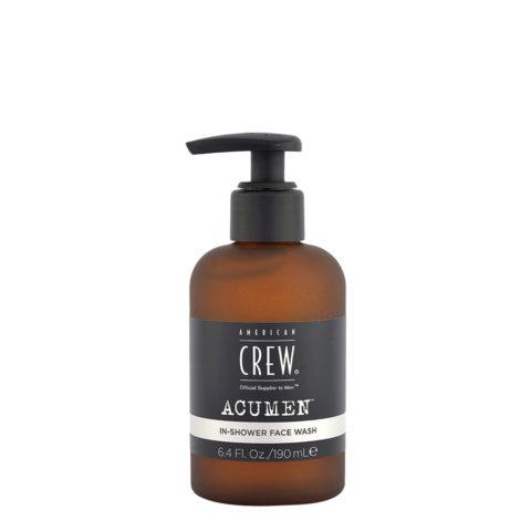 American Crew Acumen In-Shower Face Wash 190ml - Gesichts Reinigung