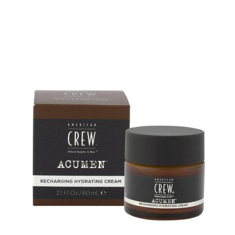 American Crew Acumen Recharging Hydrating Cream 60ml - Revitalisierende Feuchtigkeitscreme