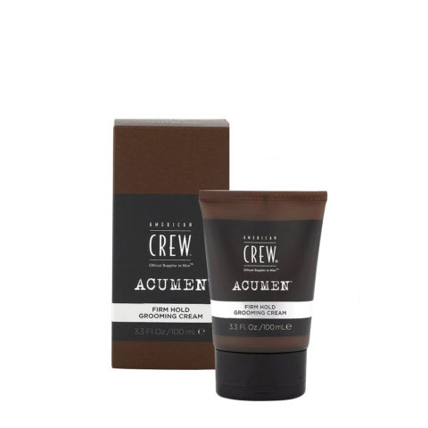 American Crew Acumen Firm Hold Grooming Cream 100ml - Modellierpaste Haare