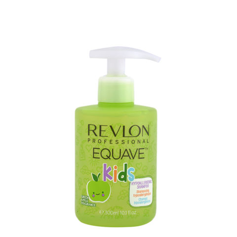 Revlon Equave Kids Hypoallergenic Shampoo Green Apple 300ml - hypoallergenes Kindershampoo