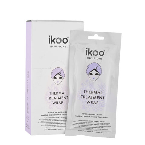 Ikoo Thermal treatment wrap Detox & Balance Mask 5x35g -  reinigende ausgleichsmaske