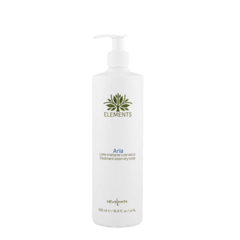 Naturalmente Elements Aria Treatment Lotion dry scalp 500ml - Milchbehandlung trockene Kopfhaut