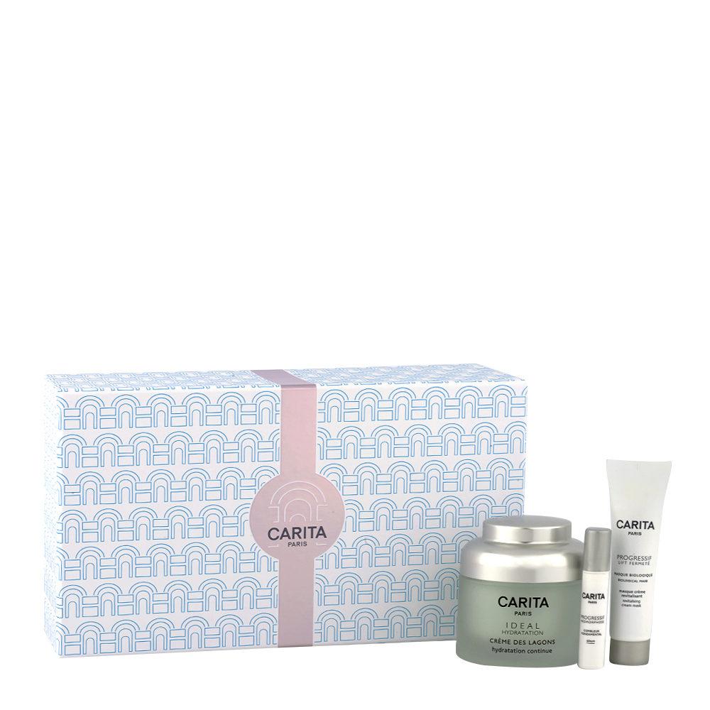 Carita Skincare kit Ideal Hydratation - Back in time