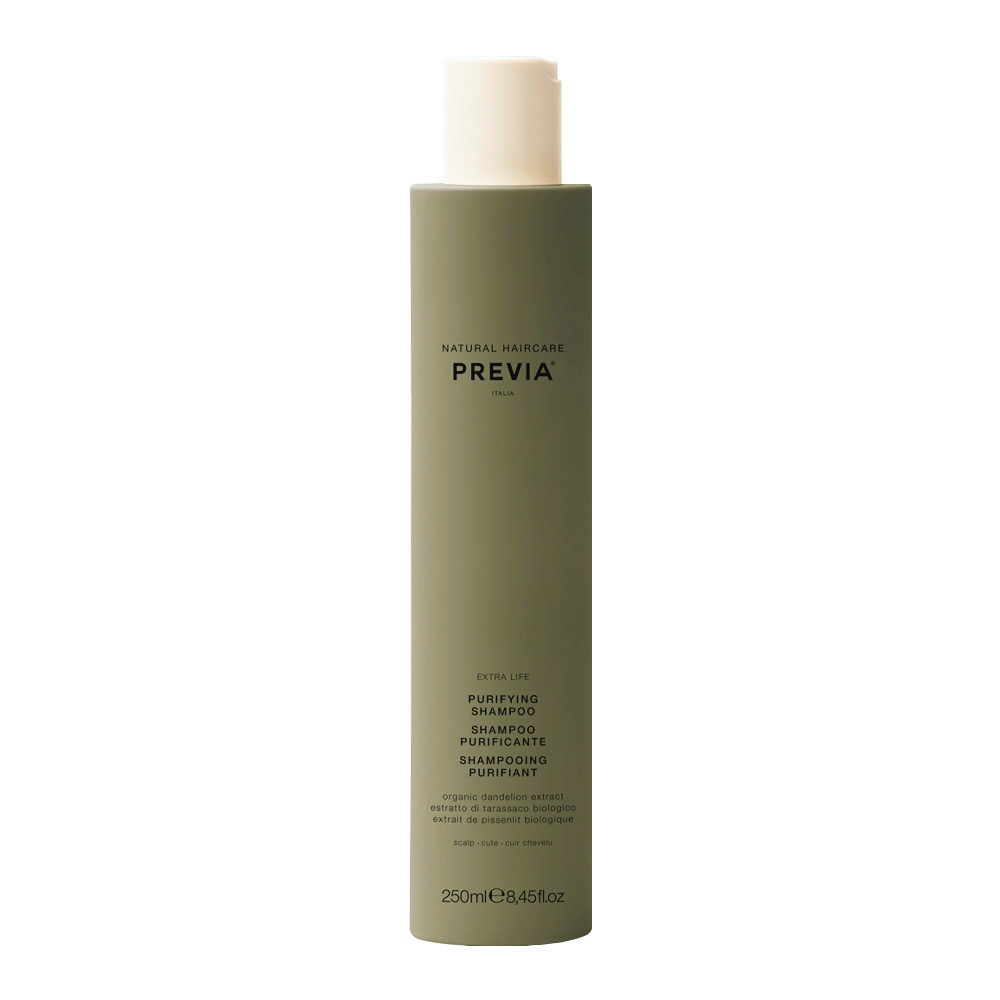 Previa Organic Tea Tree Oil & Green Clay Purifying Shampoo 300ml
