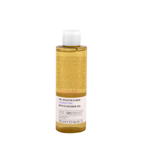 Decléor Shower Gel Douche & Bain Lavande fine 250ml - Lavendel Duschgel