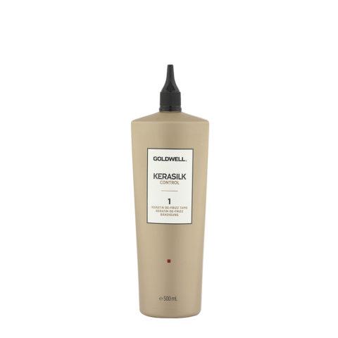 Goldwell Kerasilk Control 1 Keratin De Frizz Tame 500ml - Keratinbehandlung Anti - Frizz