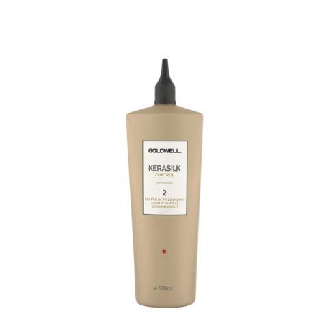 Goldwell Kerasilk Control 2 Keratin de Frizz Smooth 500ml - Keratin Haarglättung
