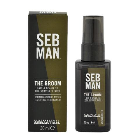Sebastian Man The Groom Hair & Beard Oil 30ml