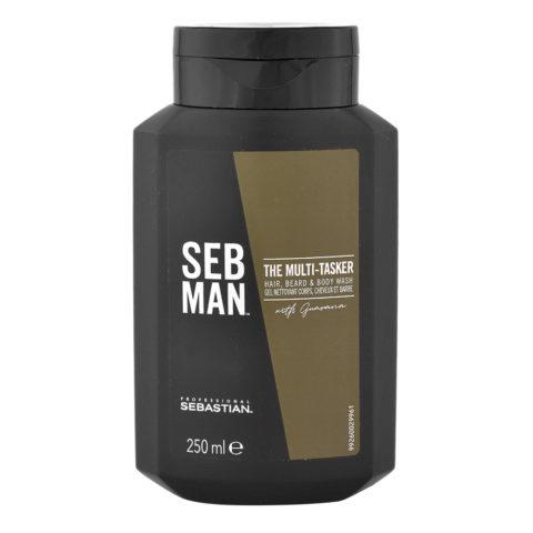 Sebastian Man The Multitasker Hair Beard & Body Wash 250ml