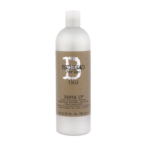 Tigi Bed Head For Men Dense Up 750ml - voluminisierend Shampoo