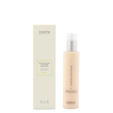 Naturalmente Breathe Moisturizing Cleanser Emulsion 200ml - Gesichtsreiniger Für Trockene Haut