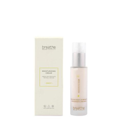 Naturalmente Breathe Moisturizing Cream 50ml - Feutigkeitsspendende Gesichtscreme für Trockene Haut