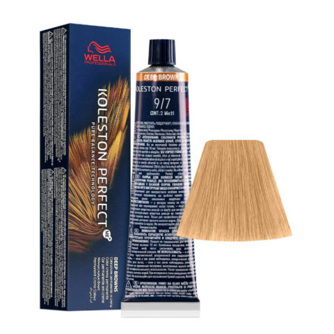 9/7 Lichtblond Braun Wella Koleston perfect Me+ Deep Browns 60ml