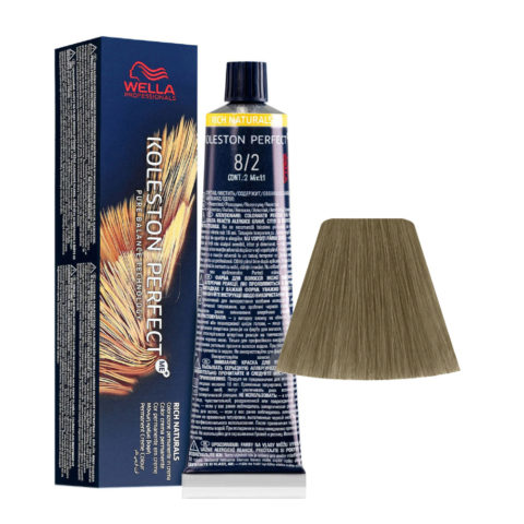 8/2 Lichtblond Matt Wella Koleston perfect Rich Naturals 60ml